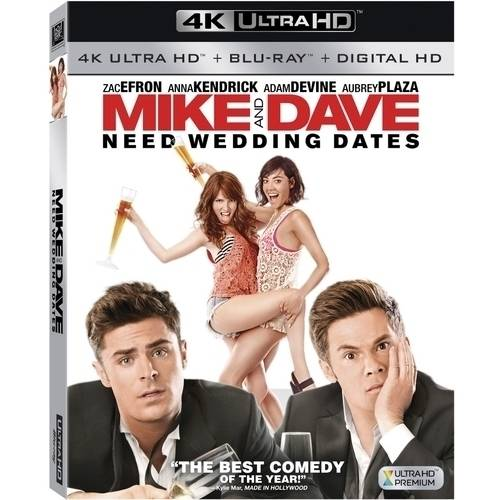 Mike & Dave Need Wedding Dates (4K Ultra HD   Blu-ray   Digital HD)