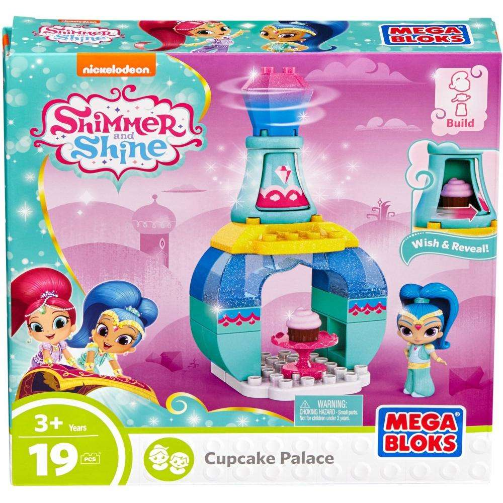 Mega Bloks Nickelodeon Shimmer and Shine, Cupcake Palace