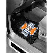 NCAA - Illinois Floor Mats - Set of 2