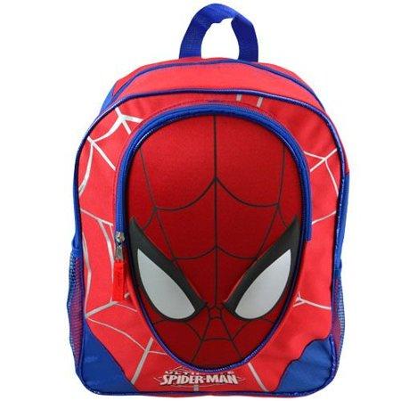 Backpack - Marvel - Spiderman - 3D Molded Face School Bag Cargo MSMAN