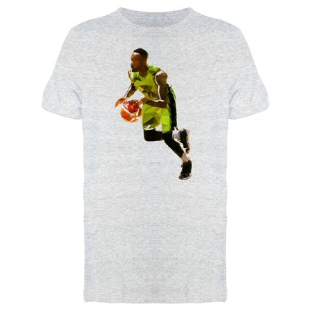 Basketball Player Running Tee Men's -Image by