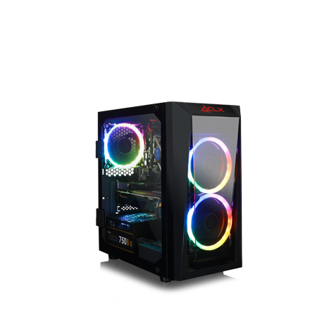 CLX SET GAMING INTEL Core i7 9700K 3.6GHz, NVIDIA GeForce GTX 1660Ti 6GB, 16GB Mem, 120 SSD + 1TB HDD