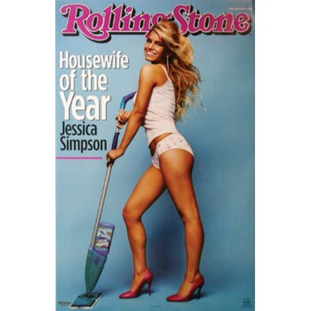 Posters Jessica Simpson - Rolling Stone - Jessica Simpson Poster Print