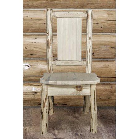 Loon Peak Abordale Solid Wood Dining Chair Walmart Com