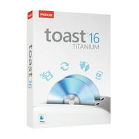 Roxio Toast 16 Titanium Media Capture and CD/DVD Burning Suite for Mac