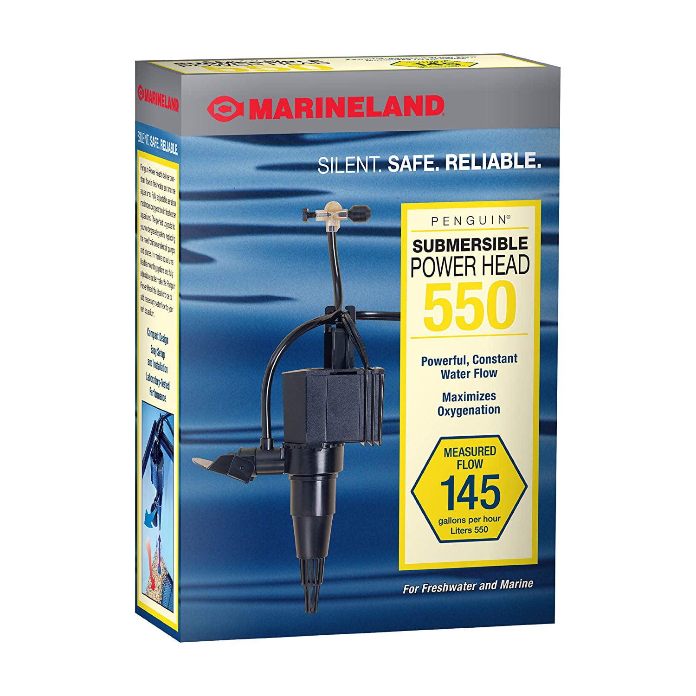 Marineland Penguin Submersible Power Head Pump 550, 145 GPH