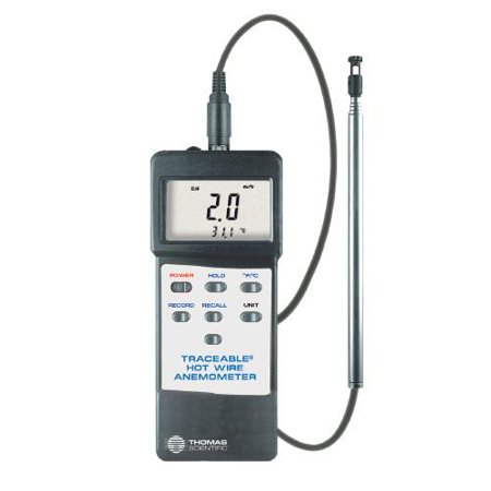 Traceable® Hot Wire Anemometer / Thermometer
