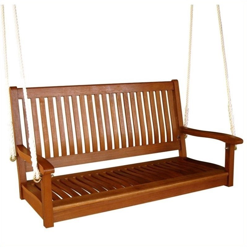 "Pemberly Row Outdoor 48"" Two Seater Swing"