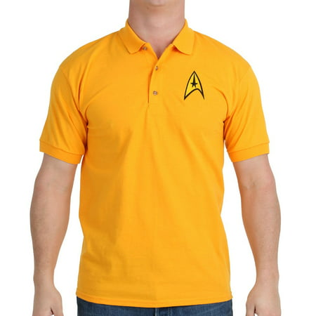 Star Trek Starfleet Command Uniform Polo Shirt - High Quality Star Trek Uniform
