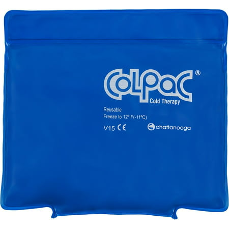 Colpac Blue Vinyl - ColPac Cold Therapy, Blue Vinyl, Small/Quarter-Size Cold Pack (5.5