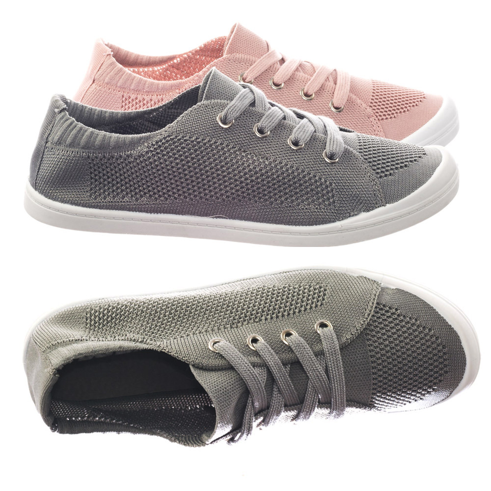 Soda Kid/'s Girl/'s Canvas Flat Sneakers Loafer OBJECT-2