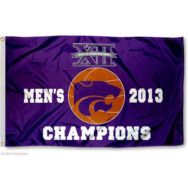 Kansas State University Wildcats Flag