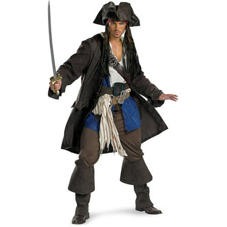 captain jack sparrow prestige adult halloween costume - Halloween Stores In Fayetteville Ar