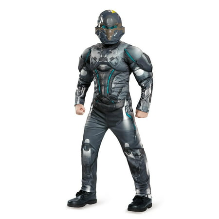 Halo Spartan Locke Classic Muscle Child Costume XL - Spartan Cheerleaders Snl Costume