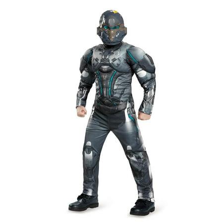 Halo Spartan Locke Classic Muscle Child Costume - Halo Costume