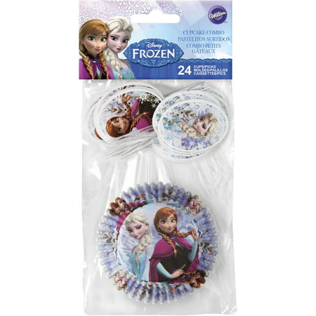 Frozen Cupcake Pick Combo 24 Count, 415-4501](Frozen Cupcake Tower)