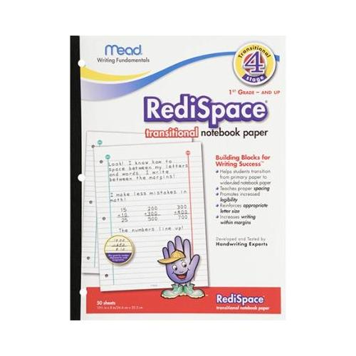 PAPER TRANSITIONAL NOTEBOOK 50 SHTS SCBMEA48018-7 (pack of 7)