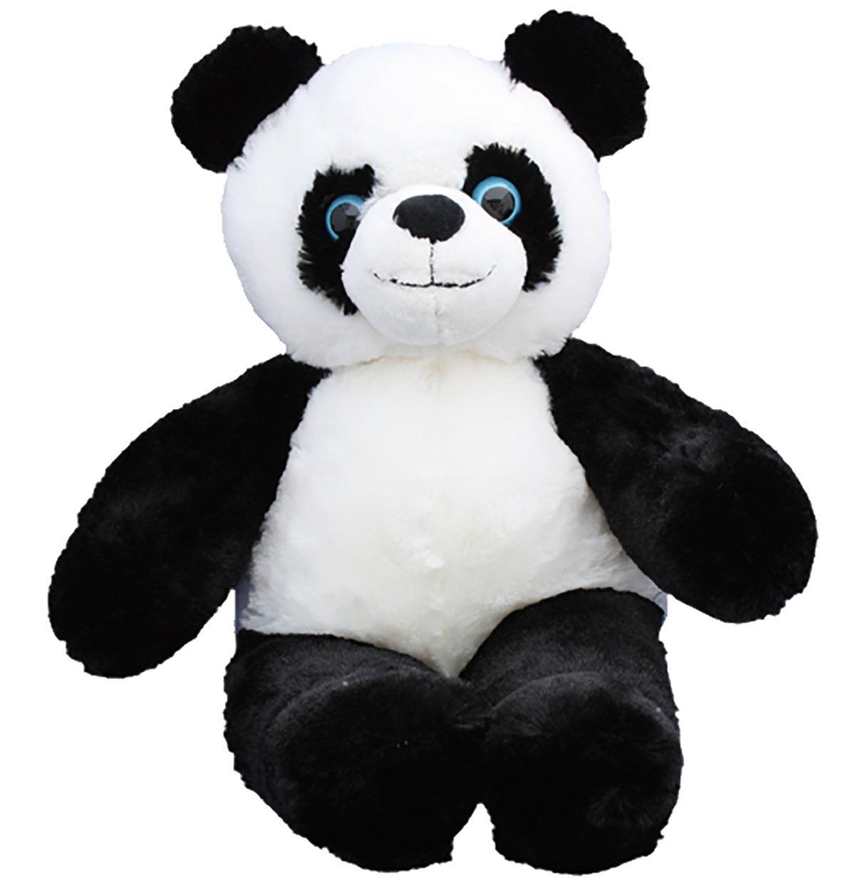 Cuddly Soft 16 inch Stuffed Panda Bear - We stuff 'em...you love 'em!