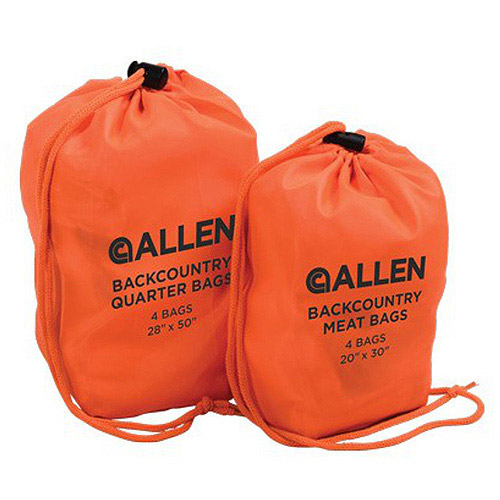 Allen Backcountry Quarter Bags for Elk, Deer, Caribou, Sheep and Antelope, 4-Pack