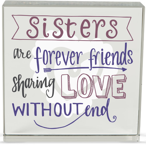 Angelstar Sister Rachel Anne Textual Art Plaque (Set of 2)