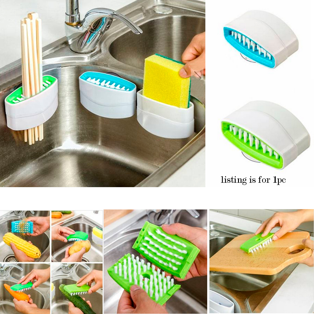 1 Sink Cutlery Cleaner Easy Dish Washing No More Sponge Brush Utensil Scrubber
