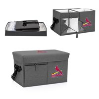 St. Louis Cardinals Ottoman Cooler & Seat - Gray - No Size