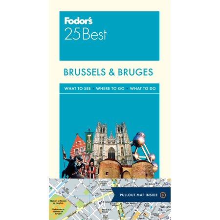 Fodor's Brussels & Bruges 25 Best