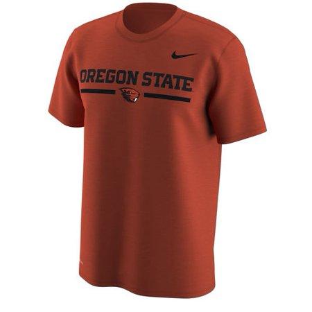 Oregon State Beavers Nike Week Zero Trainer Hook Performance T-Shirt - Orange - Nike Cross Training Clothing