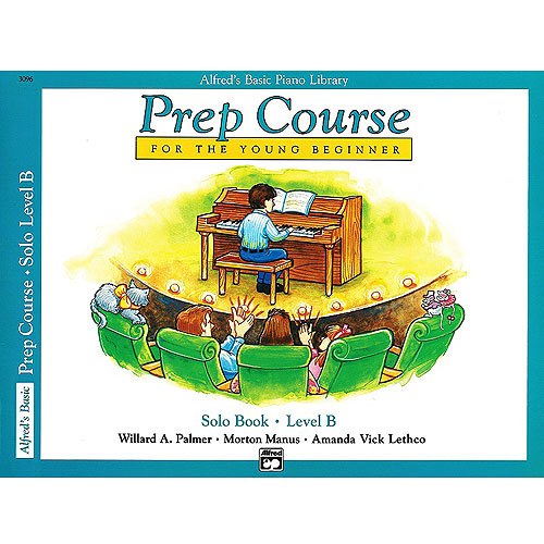 Alfred's Basic Piano Library: Prep Course Solo Level B