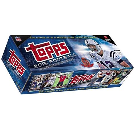 NFL 2015 Topps Football Cards Complete Set Trading Card Box [Hobby]  Walmart.com