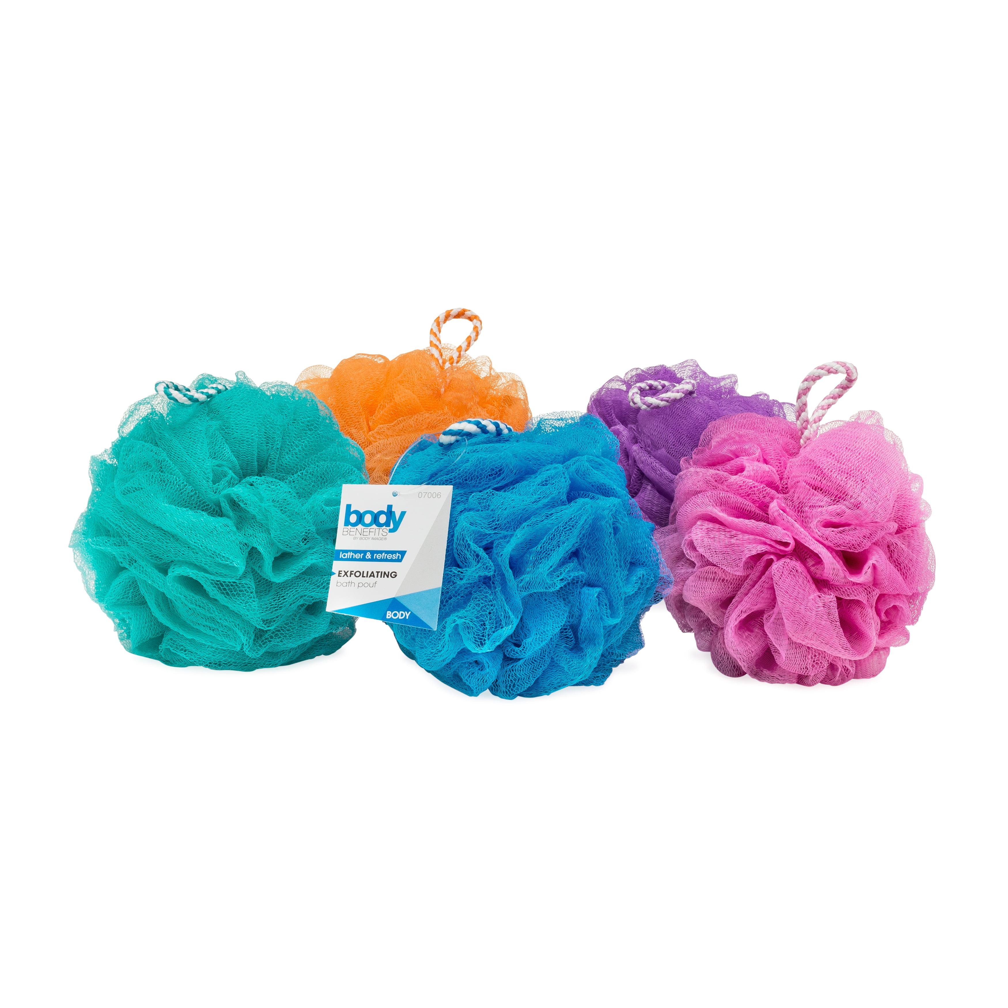 Body Image Body Benefits Exfoliating Bath Sponge, 1 ct, Color May Vary