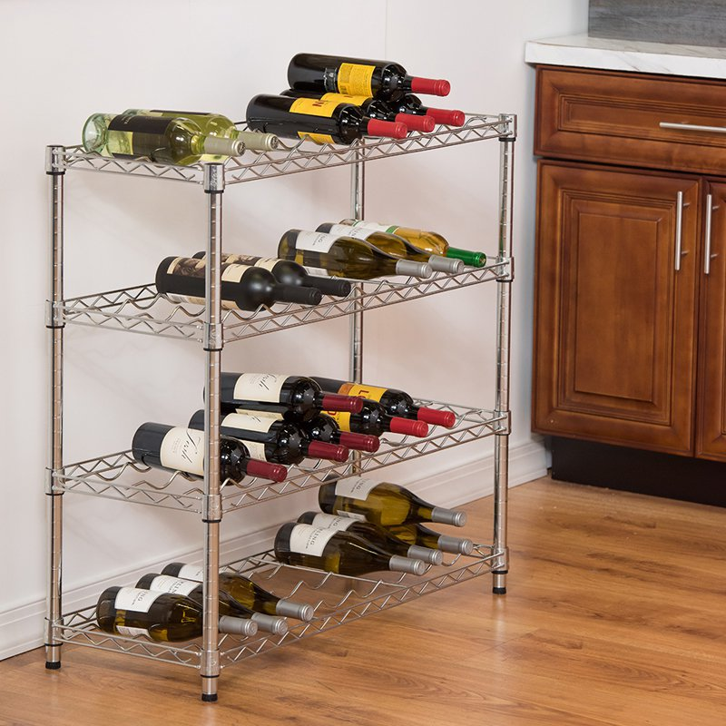 Trinity Wine Rack by Overstock