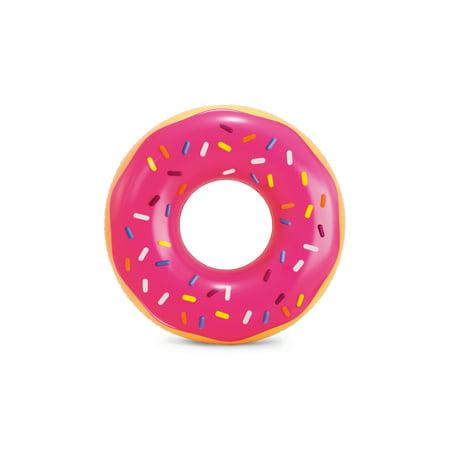 Intex Inflatable Pink Sprinkle Donut Pool Tube Float