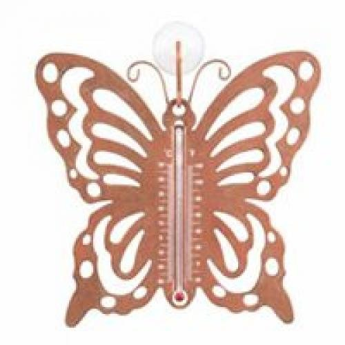 Mintcraft W52410 Butterfly Outdoor Thermometer Outdoor - Butterfly - Carded