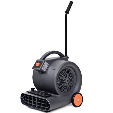 Mini Air Blower (Costway Air Mover Blower Floor Fan 3 Speeds Carpet Dryer Industrial Commercial w/)