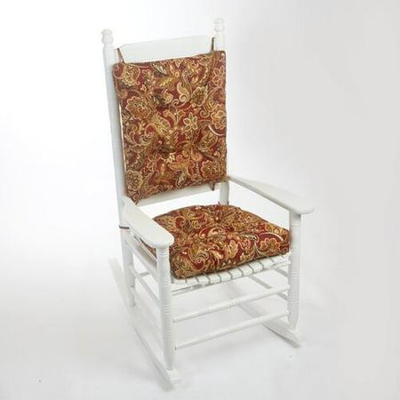 Magnificent Charlton Home 2 Piece Truffle Porch Outdoor Rocking Chair Interior Design Ideas Pimpapslepicentreinfo