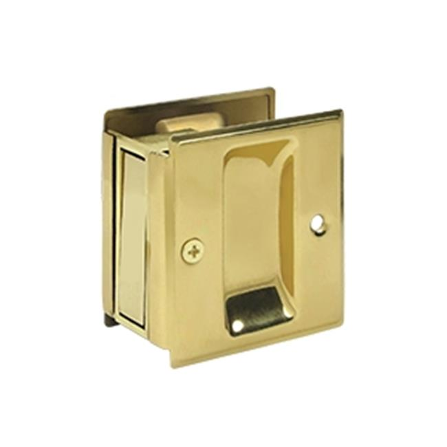 2.5 x 2.75 in. Passage Pocket Lock, Bright - image 1 de 1