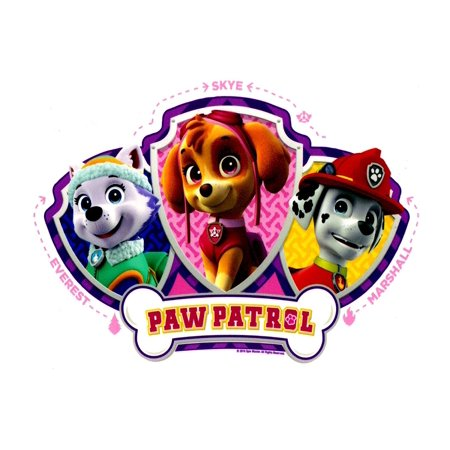 paw patrol skye everest and mars licensed edible cake topper by a fast and simple way to add. Black Bedroom Furniture Sets. Home Design Ideas