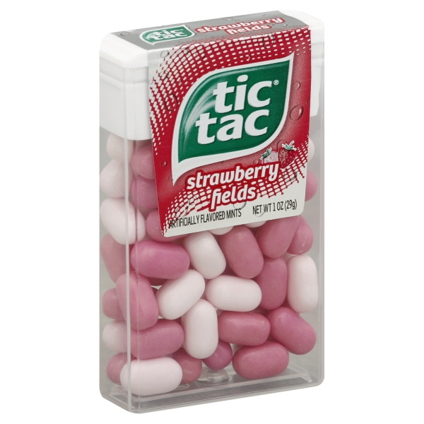 Tic Tac Strawberry Fields Mints, 1 oz
