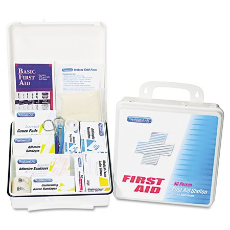 Physicianscare By First Aid Only Office First Aid Kit  For Up To 75 People  312 Pieces Kit