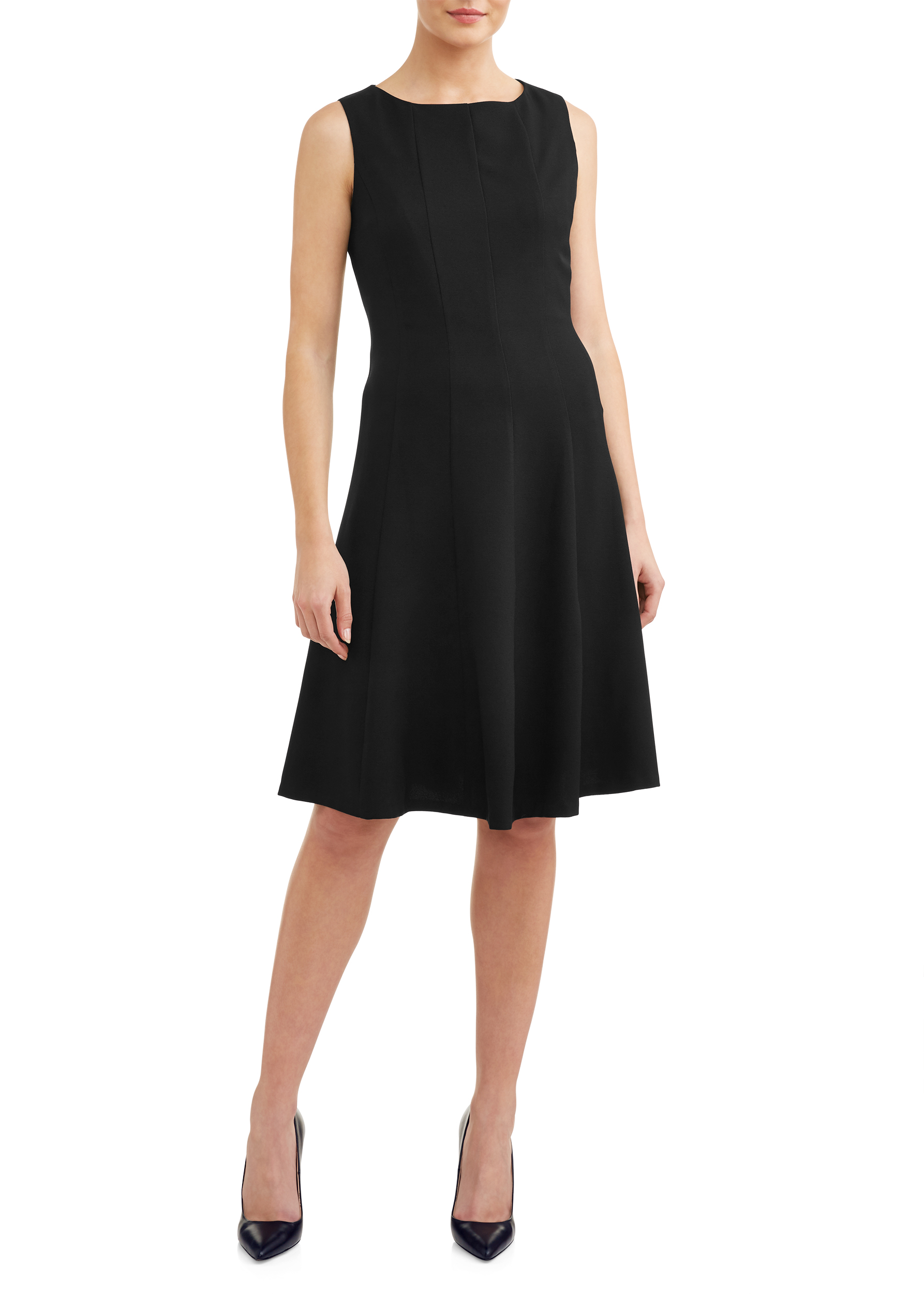 Women's Essential Multi Seam Sleeveless Dress