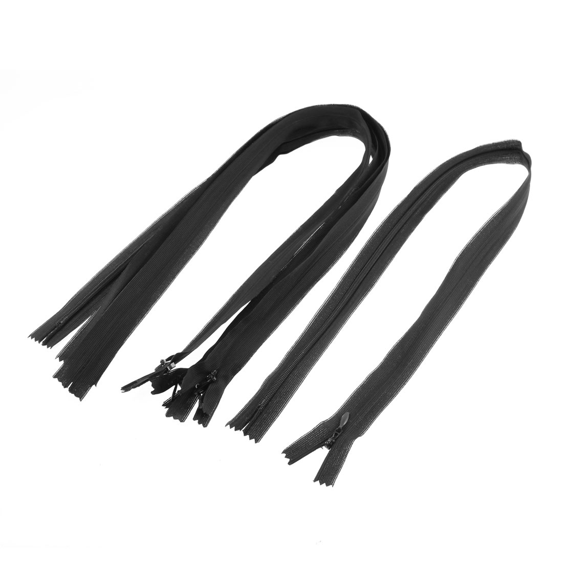 Unique Bargains 24-inch 5 Pcs Nylon Dress Zippers Tailor Sewing Tools