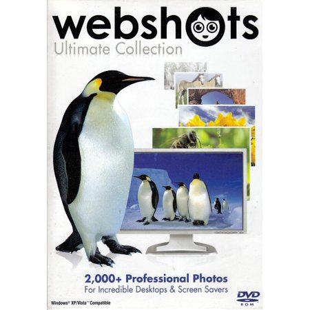 - Webshots Ultimate Collection of 2000+ Professional Photos