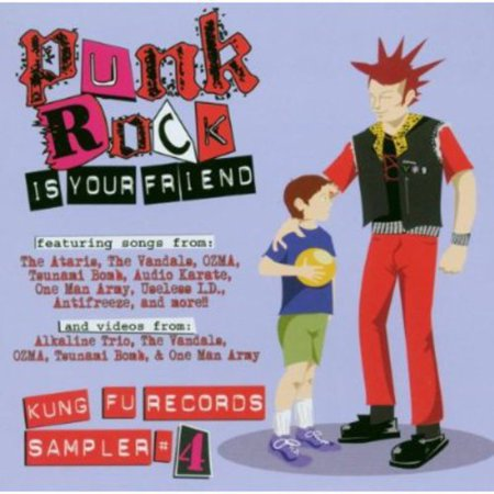 Punk Rock Is Your Friend, Vol. 4 (CD) - Halloween Punk Rock Music