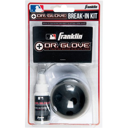 Franklin Sports MLB Dr Glove Break-In Kit Baseball Glove Conditioning Oil
