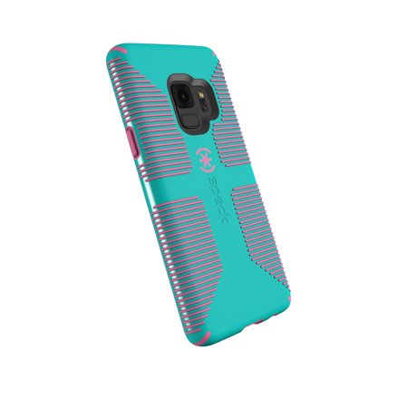 wholesale dealer 2ed3c 473fd Speck CandyShell Grip Case for Galaxy S9, Blue and Pink