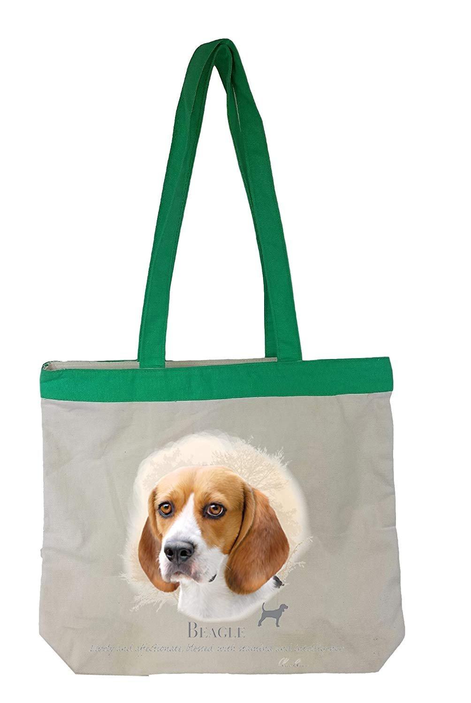 Beagle Tote Bag Personalized