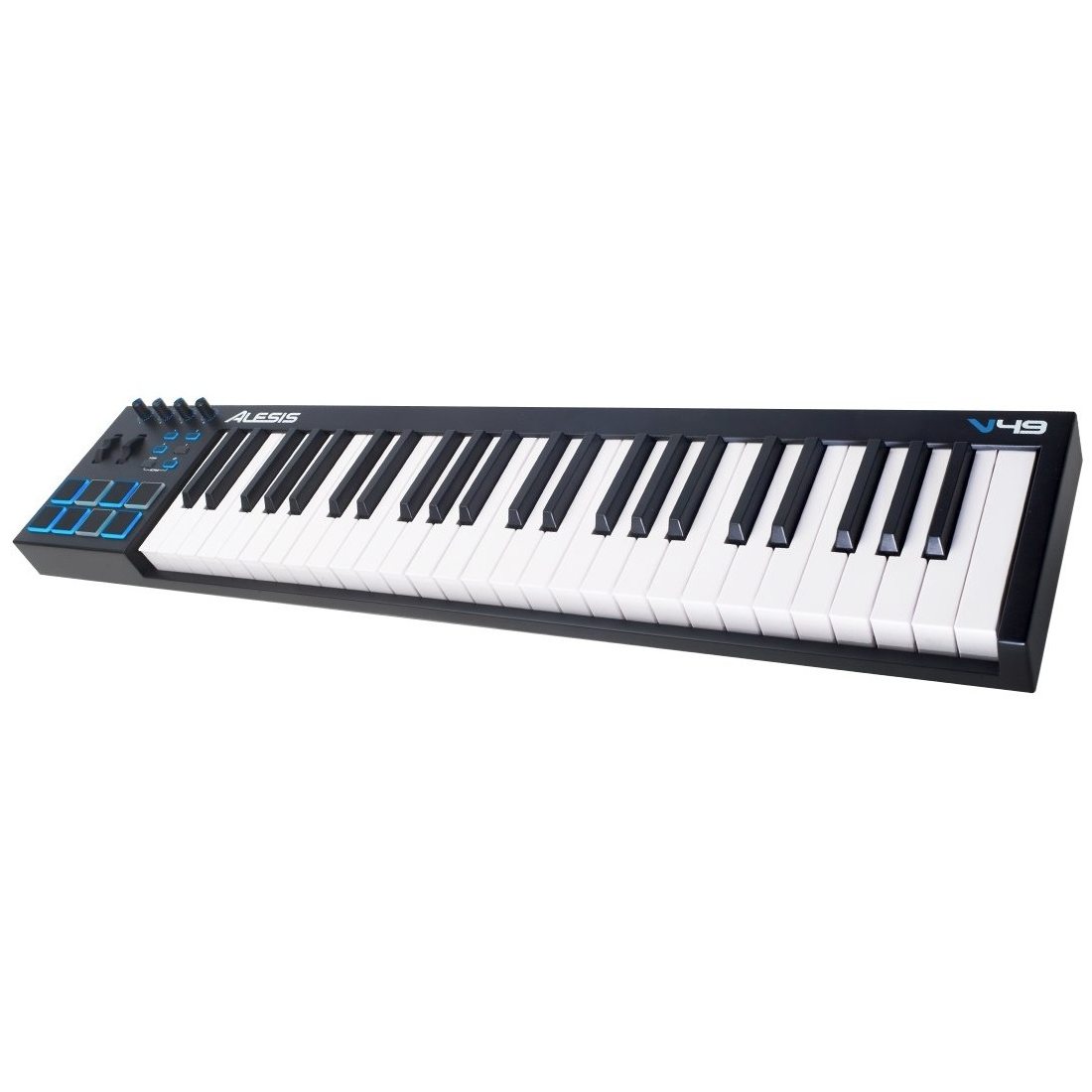 Alesis V49 | 49-Key USB MIDI Keyboard & Drum Pad Controller by inMusic Brands, Inc