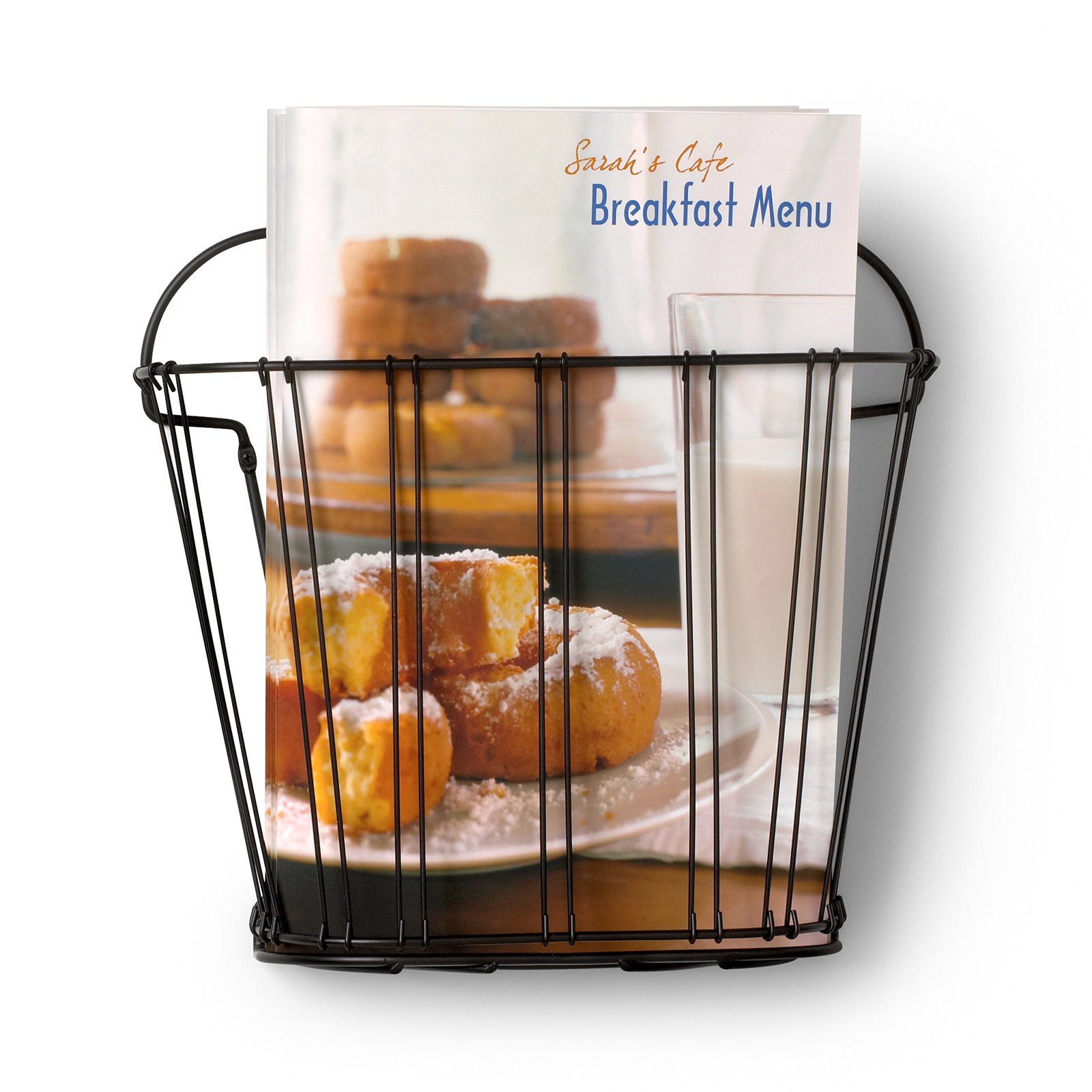 Spectrum Diversified Double Wire Wall Mount Magazine Rack by Spectrum Diversified Designs LLC