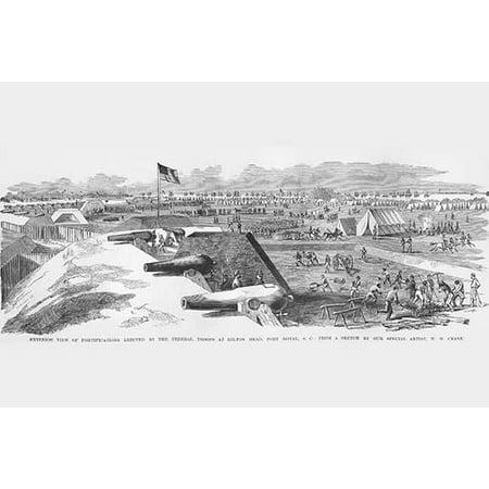 Hilton Head, Port Royal Fortifications-Fine Art Canvas Print (20